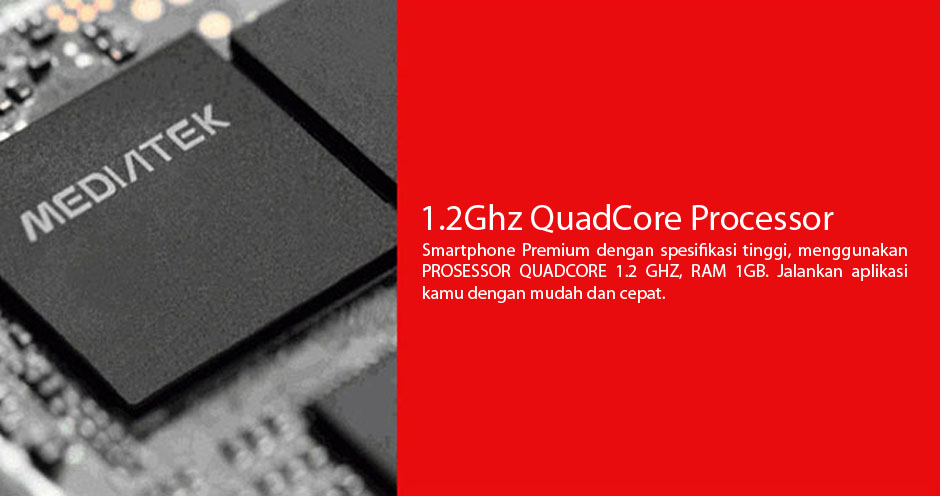 1,2Ghz Quadcore Prosessor