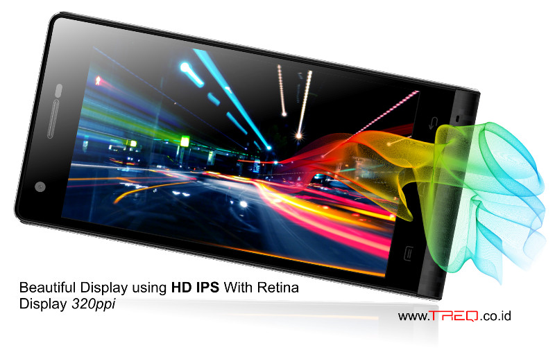 4,7 HD IPS Display Treq Q1