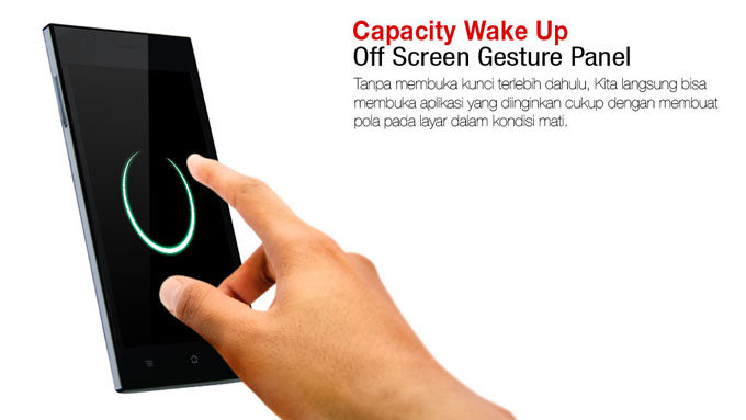 Fitur Capacity Wake Up Treq S1
