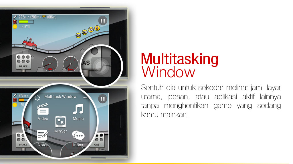 Fitur Multitasking Treq Tune Z2C